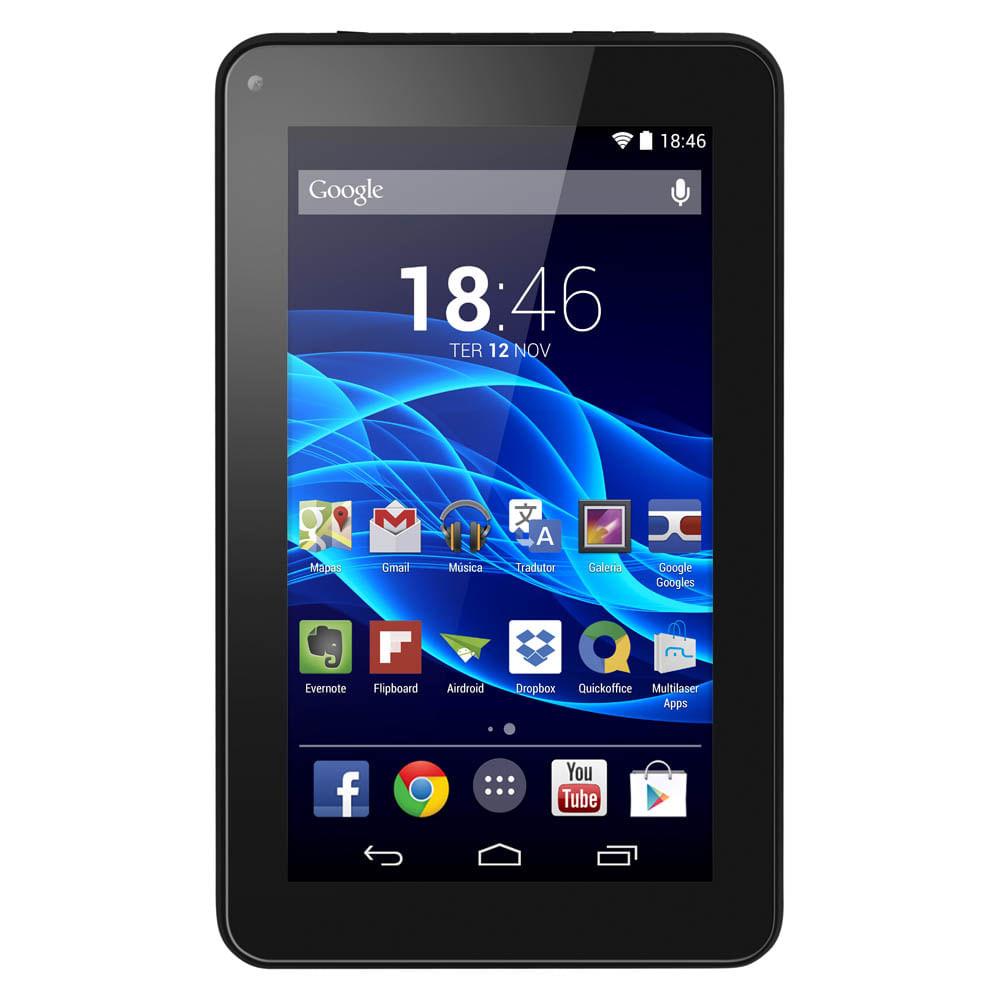 Tablet Multilaser M7S Preto Quad Core