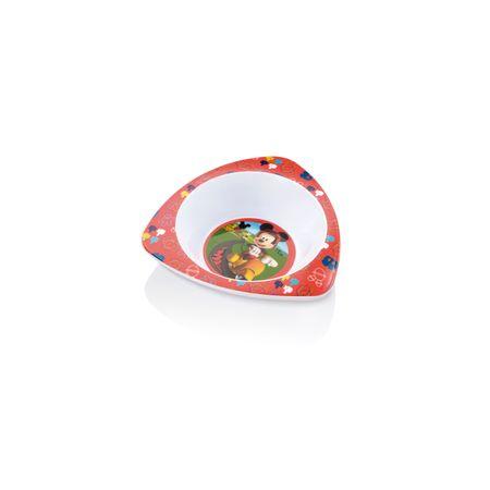 Prato Fundo Triangular para Microondas Mickey Multikids Baby - BB094