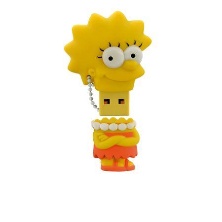 Pendrive Multilaser 8GB Simpsons Lisa - PD072