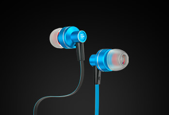 IN-ear HEADSET stereo audio wired | disponível em 4 cores