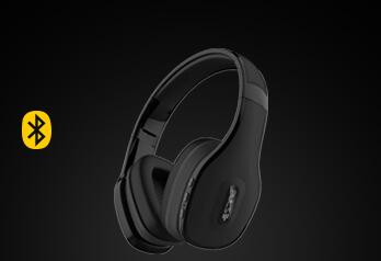 over-ear wireless stereo audio | disponível em 3 cores