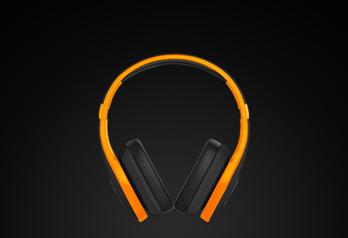over-ear stereo audio | disponível em 3 cores