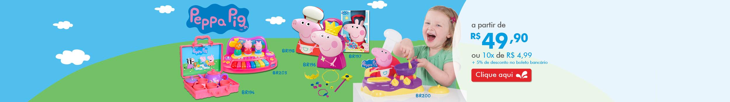 Banner Peppa Pig