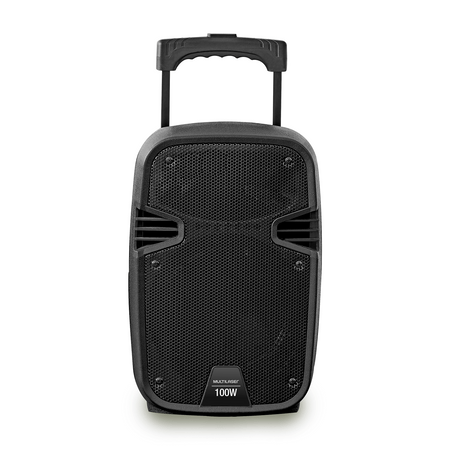 Caixa Amplificadora 100W RMS Bluetooth + Microfone com fio Multilaser - SP258