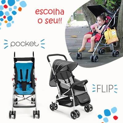 Carrinhos Pocket Flip