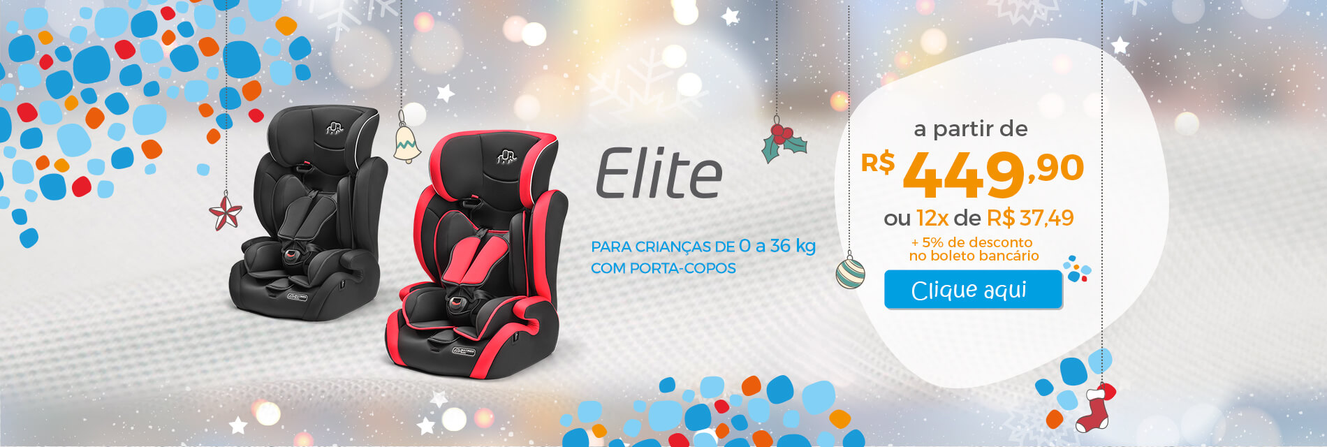 Cadeira Elite Natal