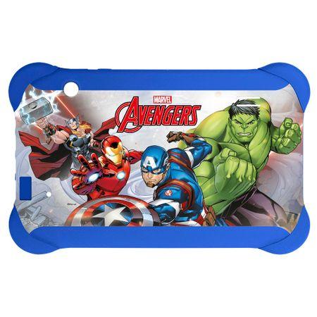 Case Para Tablet 7 Pol Disney Vingadores  Azul Multilaser - PR938