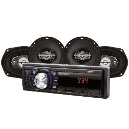 711324a2074 Kit Automotivo Mp3 One Multilaser Quatro Alto Falantes + Rádio Fm + Entrada  Sd E Usb + Função Relógio - AU955 - lojamultilaser
