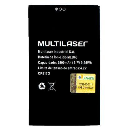 2097831844cf4 Bateria Mlb60 P  Smartphone Ms60 (P9005 06) - PR063