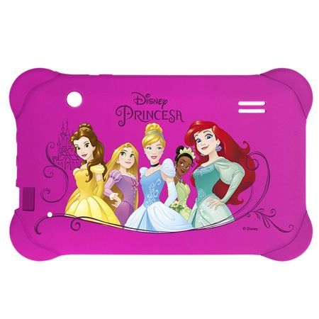 Case para Tablet 7 Pol Disney Princesas rosa Multilaser - PR939