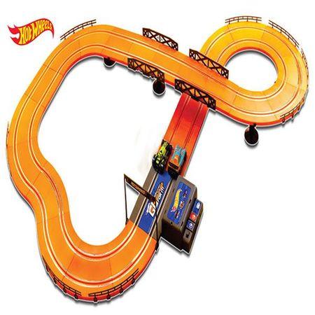 Pista Hot Wheels Track Set 380cm com 2 Carrinhos + 2 Controles Indicado para +5...