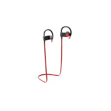 Earhook In-Ear Sport Metallic Áudio Bluetooth Vermelho Pulse - PH253
