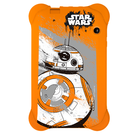 Case Para Tablet 7 Pol. Star Wars Laranja Multilaser- PR940