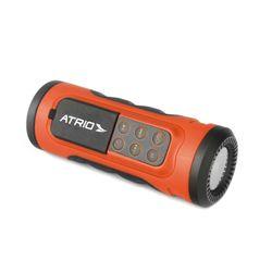 Speaker Bluetooth com Lanterna 3W RMS MP3+WMA Rádio FM Entrada para Cartão SD e Bateria Recarregável Atrio - BI085