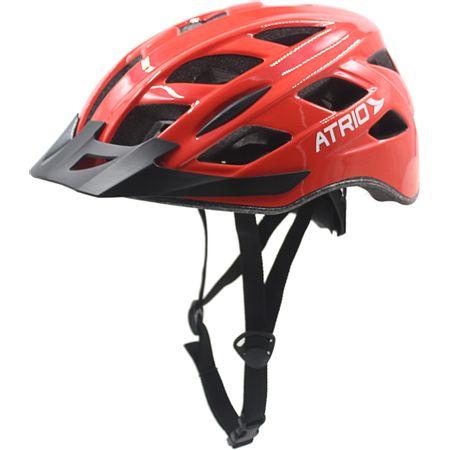 Capacete para Ciclismo Tam. G com LED Viseira Removível e 19 Entradas de...