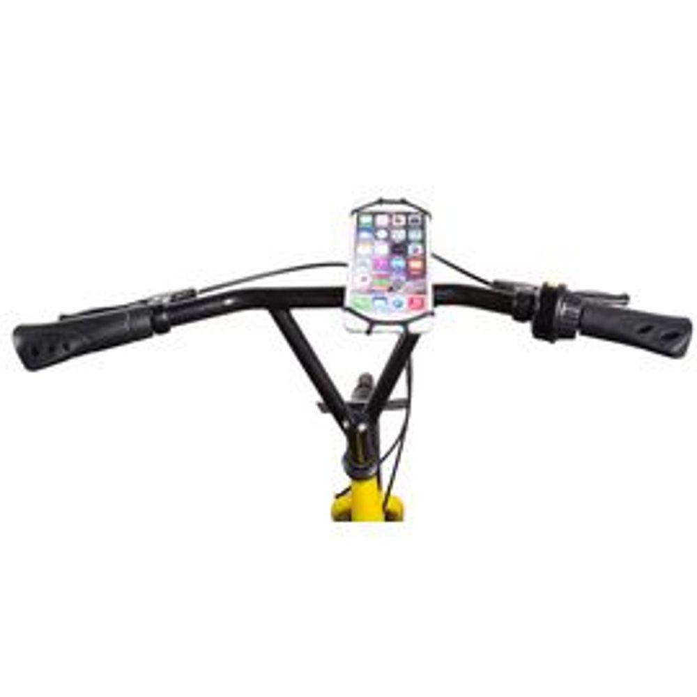 ca96e48ea Suporte de Smartphone para Bicicleta com Rotação 360º para Aparelhos de até  6 Pol. Material em Silicone e PU Preto Atrio - BI142