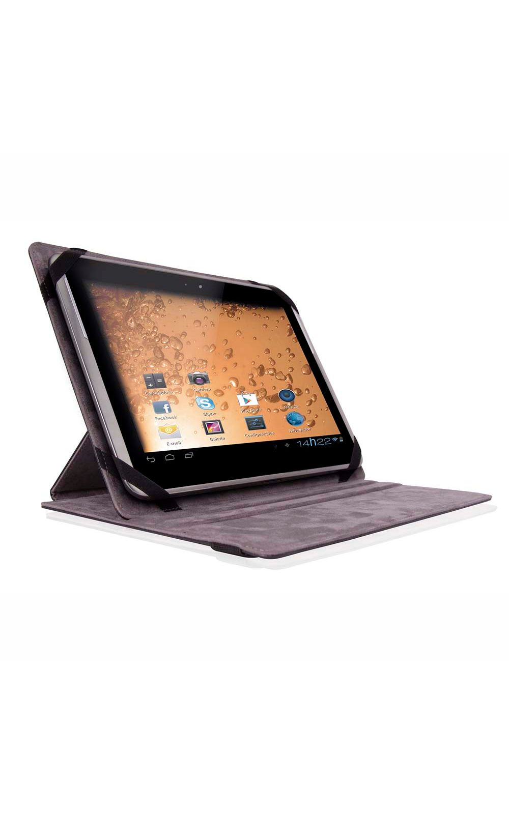 Foto 1 - Capa Tablet Smart Multilaser Cover 9.7 Pol. Preto - BO193