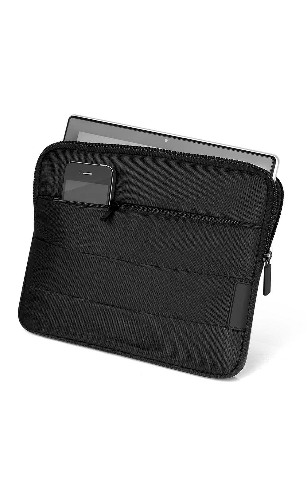 Foto 1 - Case Nylon Multilaser para Tablet e Netbook Dupla Camada Ate 10Pol - BO302