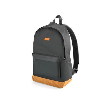 Mochila Backpack Preta E Marrom Até 15.6 Pol Multilaser - BO407