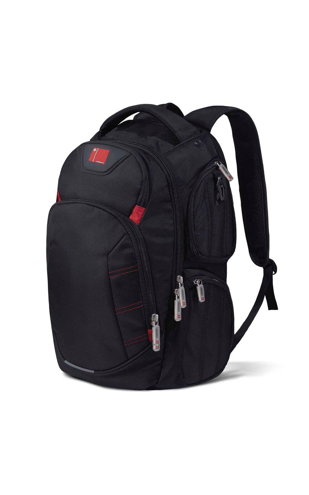 Foto 1 - Mochila Multilaser Swisspack Large Preta Até 15.6 Pol. - BO410