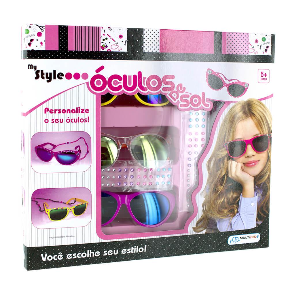 4d58371ef My Style Óculos de Sol - BR013 - multilaser