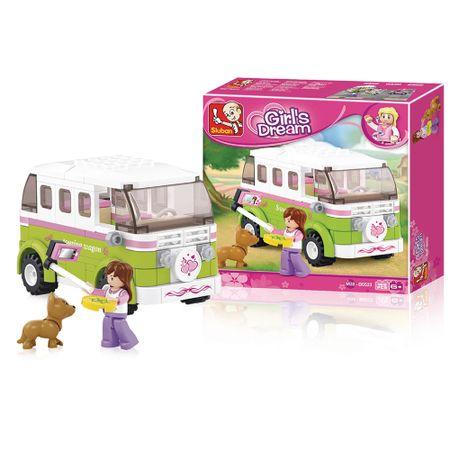 Blocos de Montar Ônibus de Viagem Girls Dream 158 Peças Indicado para +6 Anos...