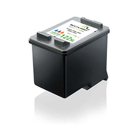 Cartucho Multilaser compatível Hp 122Xl Colorido Co339 - CO339