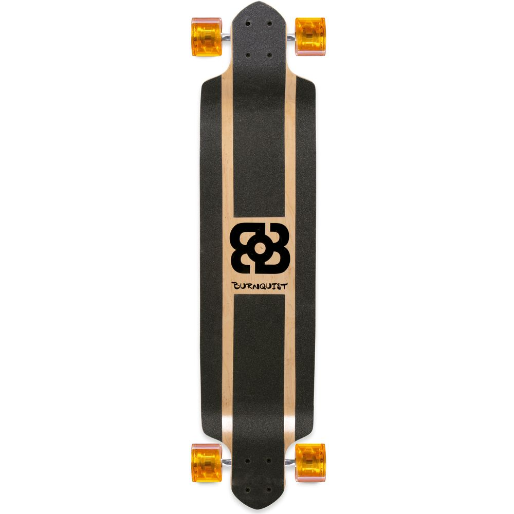 6e7e7d3bd0d0e Skate Longboard Bob Burnquist 41 Pol. Preto - ES058 - multilaser