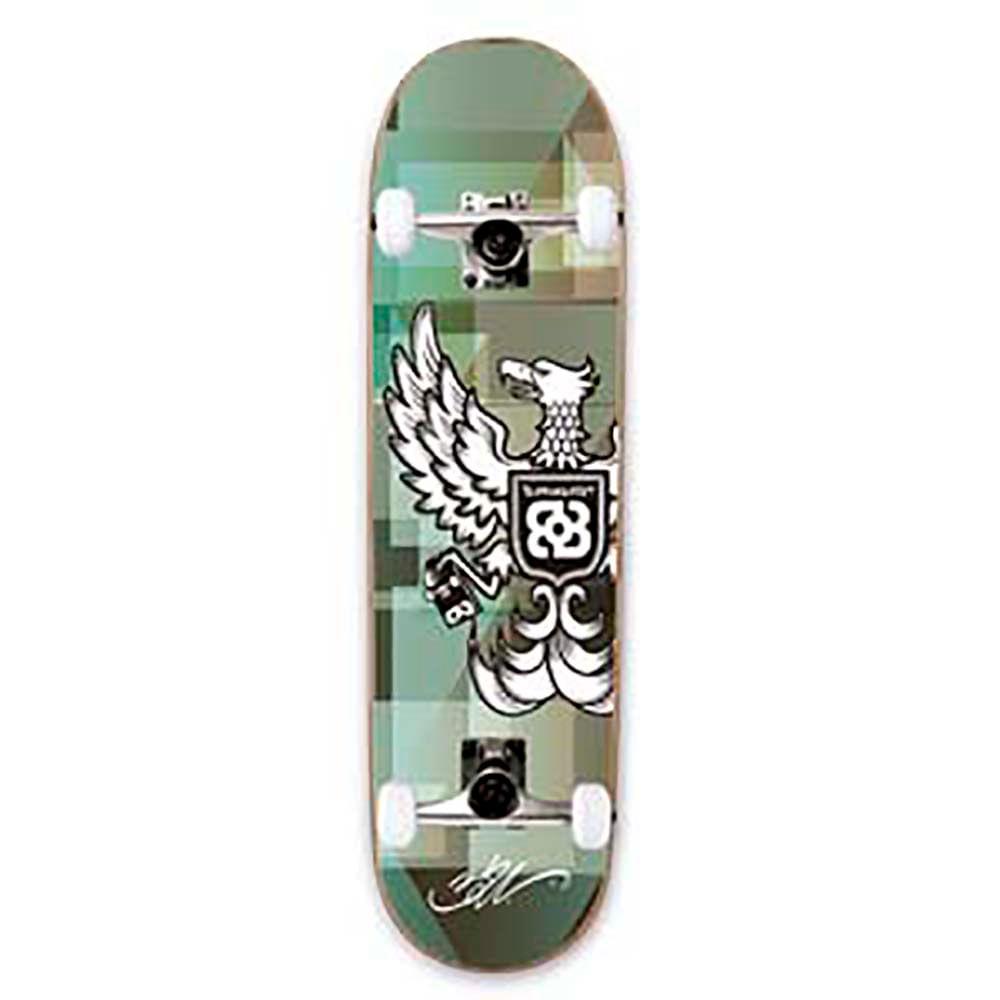 978b9056a0d Skate Street Bob Burnquist 8 Pol. x 31 Pol. Rodas 53X32mm Rolamento ABEC 5  Modelo Águia Atrio - ES073