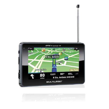 GPS LCD 4,3 Pol. Touch Tv Digital Rádio FM Tts E-Book Multilaser - GP034