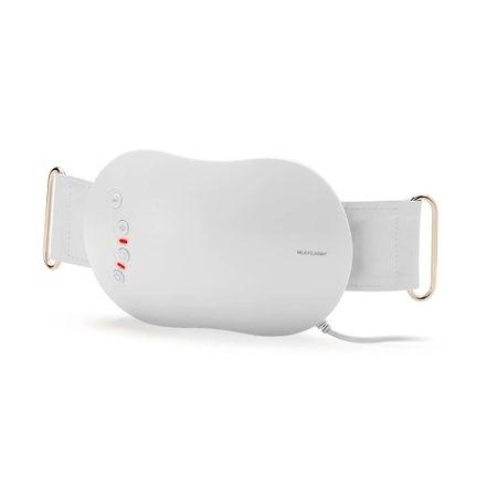 Cinta Massageadora Multilaser Slim Shape Bivolt Branca - HC015