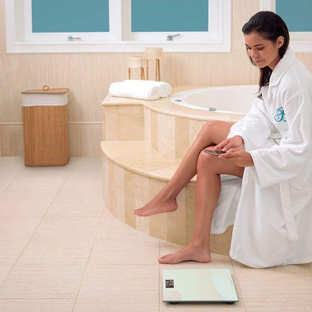 Balança Multilaser Digital Digi-Health Bluetooth Branca - HC031