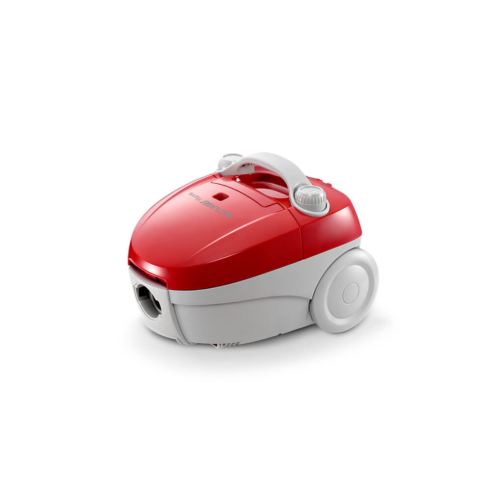 Aspirador de Pó Multilaser 127V 1400W Vermelho - HO01