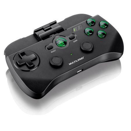 Controle Sem Fio Multilaser Para Jogos De Smartphone Transmissão Bluetooth -...