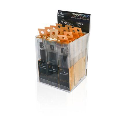 Smartogo 2 em 1 Adaptador USB + Cartão De Memória Classe 10 16GB Preto...