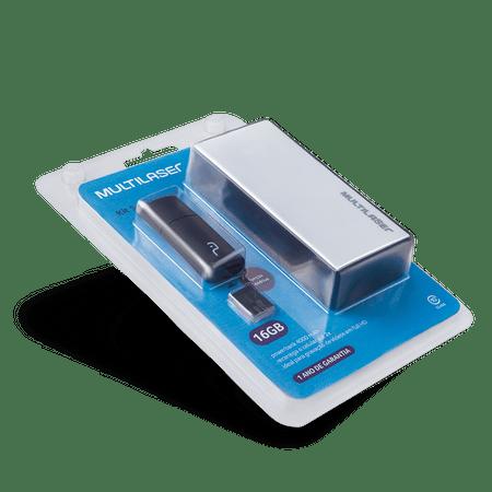Foto 16 - Kit Power Bank + Pendrive + Cartão de Memória Micro SD com 16GB Multilaser - MC220
