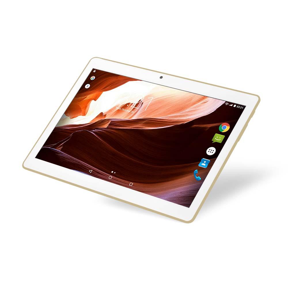 7789bd83a4566 Tablet M10A 3G Dourado Quad Core Android 7.0 Dual Câmera E Bluetooth ...