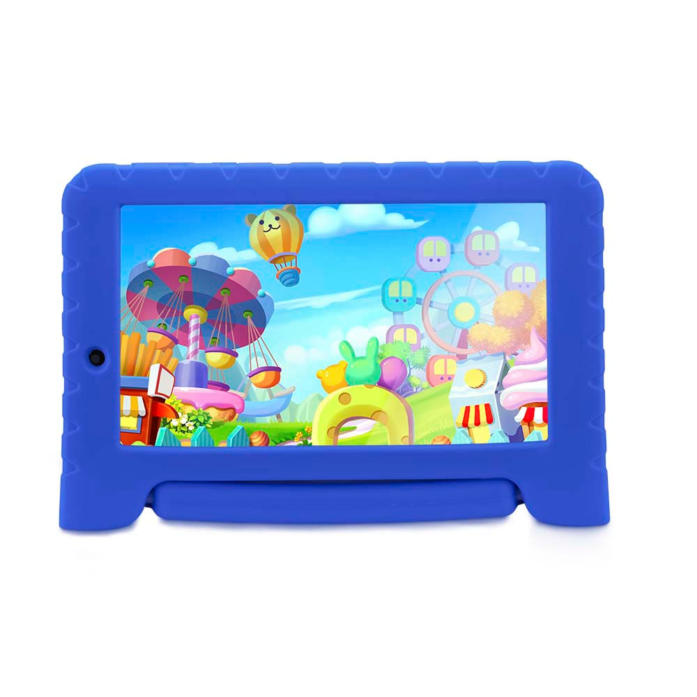 b57326deedad9 Tablet Multilaser Kid Pad Plus Azul 1Gb Android 7 Wifi Memória 8Gb Quad  Core Multilaser - NB278 - multilaser