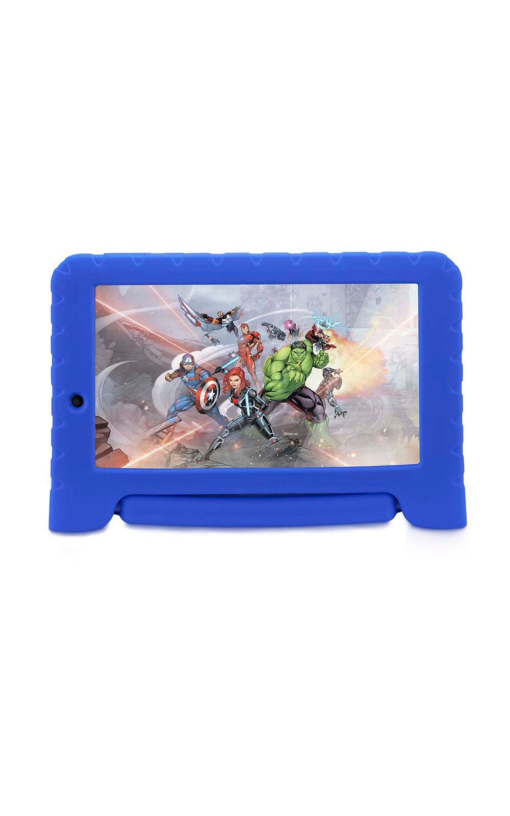 Foto 1 - Tablet Disney Vingadores Plus Wifi 8GB Android 7 Dual Câmera Azul Multilaser - NB280