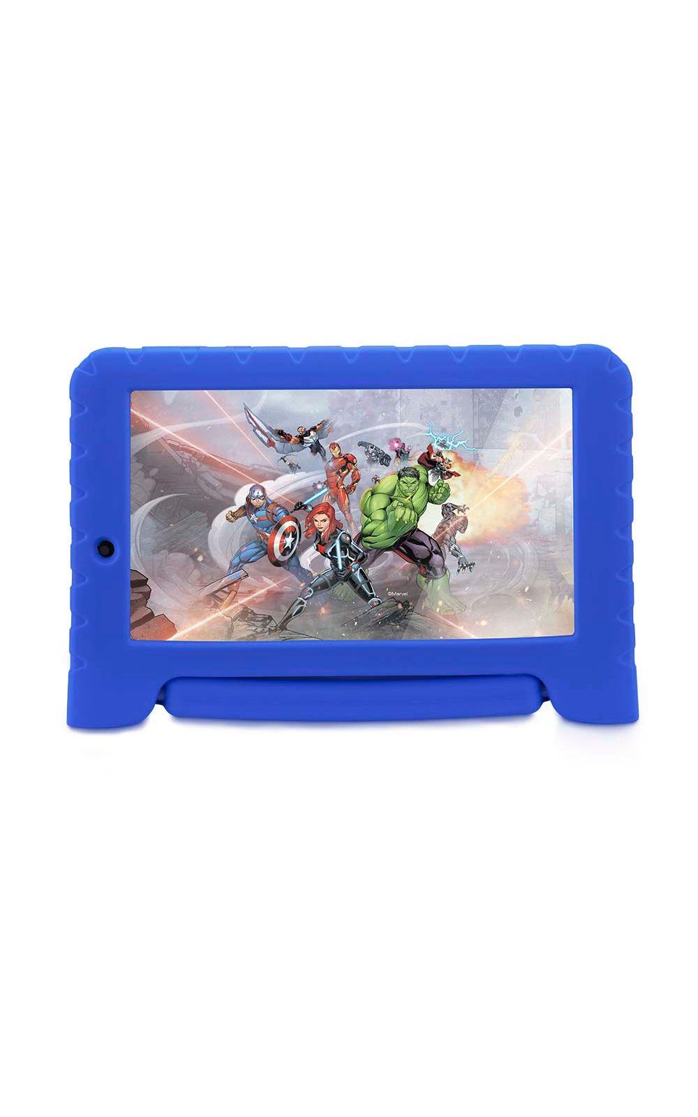 Foto 1 - Tablet Disney Vingadores Plus Wifi 8Gb Android 7 Dual Câmera Azul Multilaser - NB280