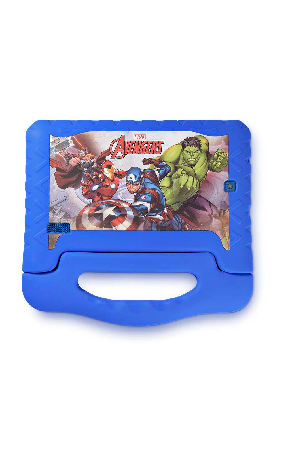 Foto 2 - Tablet Disney Vingadores Plus Wifi 8GB Android 7 Dual Câmera Azul Multilaser - NB280