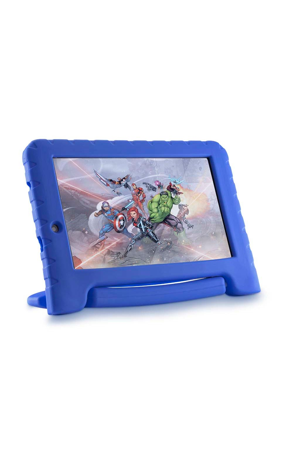 Foto 4 - Tablet Disney Vingadores Plus Wifi 8GB Android 7 Dual Câmera Azul Multilaser - NB280
