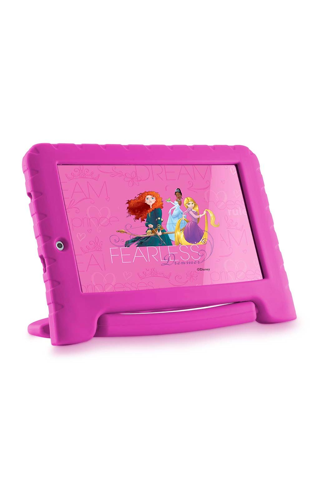 Foto 4 - Tablet Disney Princesas Plus Wifi 8Gb Dual Câmera Android 7 Rosa Multilaser - NB281