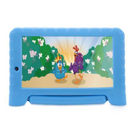 Tablet Galinha Pintadinha Plus Quad Core 1Gb Ram Wifi 7 Pol. 8Gb Android 7 Azul...