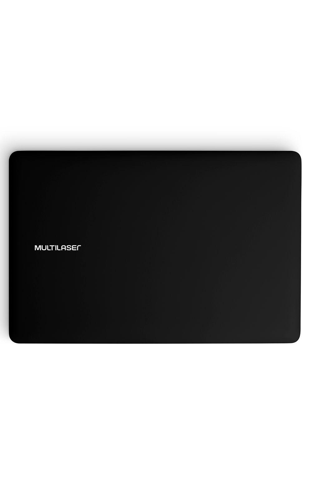 Foto 4 - Notebook Legacy Intel Quad Core Tela Hd 14 Pol. Windows 10 Ram 2Gb Multilaser Preto - PC101