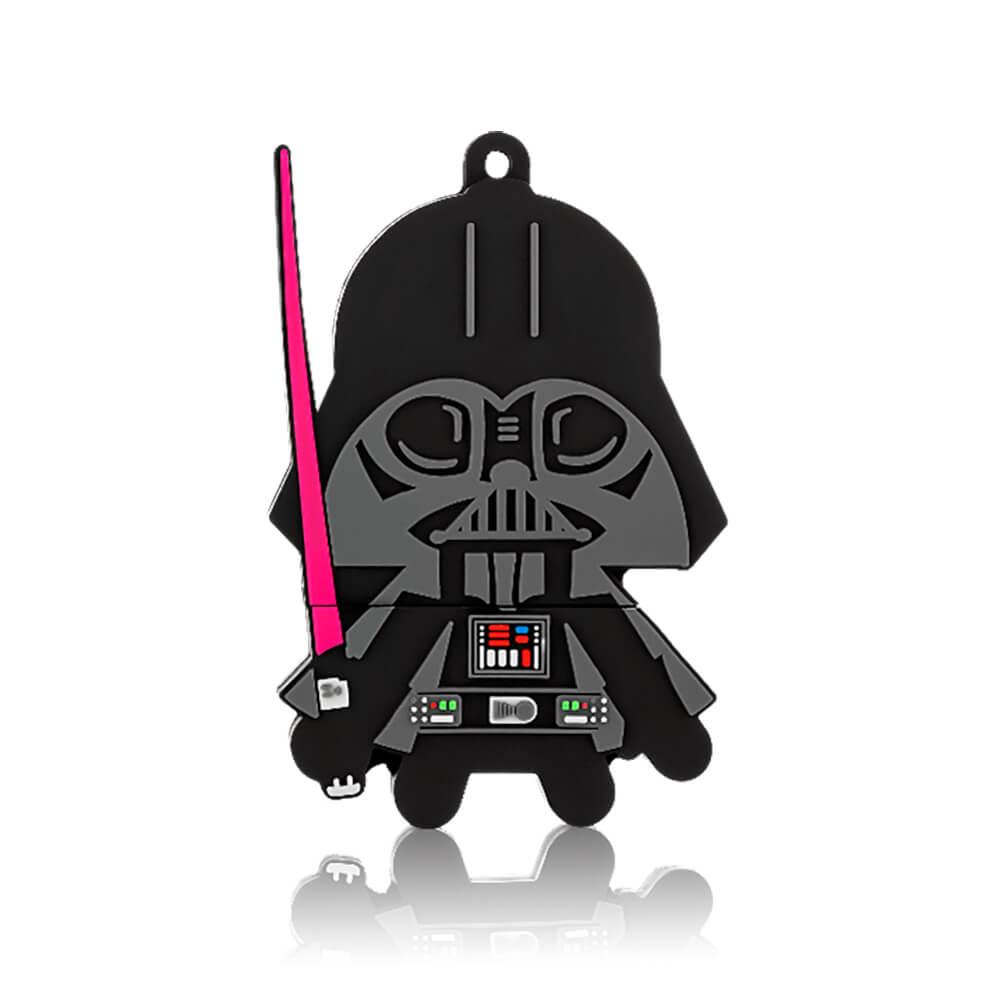 Pen Drive Darth Vader 8GB USB Leitura 10MB/s E Gravação