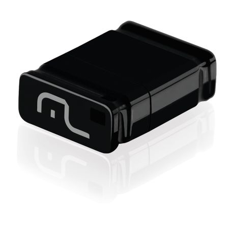 Pendrive Multilaser Nano Preto 16GB - PD054
