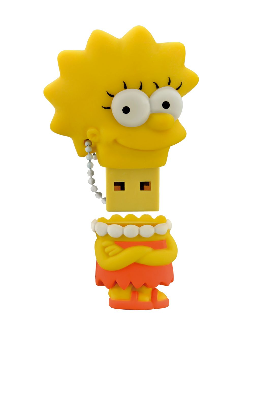 Foto 1 - Pendrive Multilaser 8Gb Simpsons Lisa - PD072