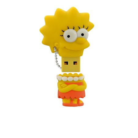 Pendrive Multilaser 8GB Simpsons Lisa - PD072