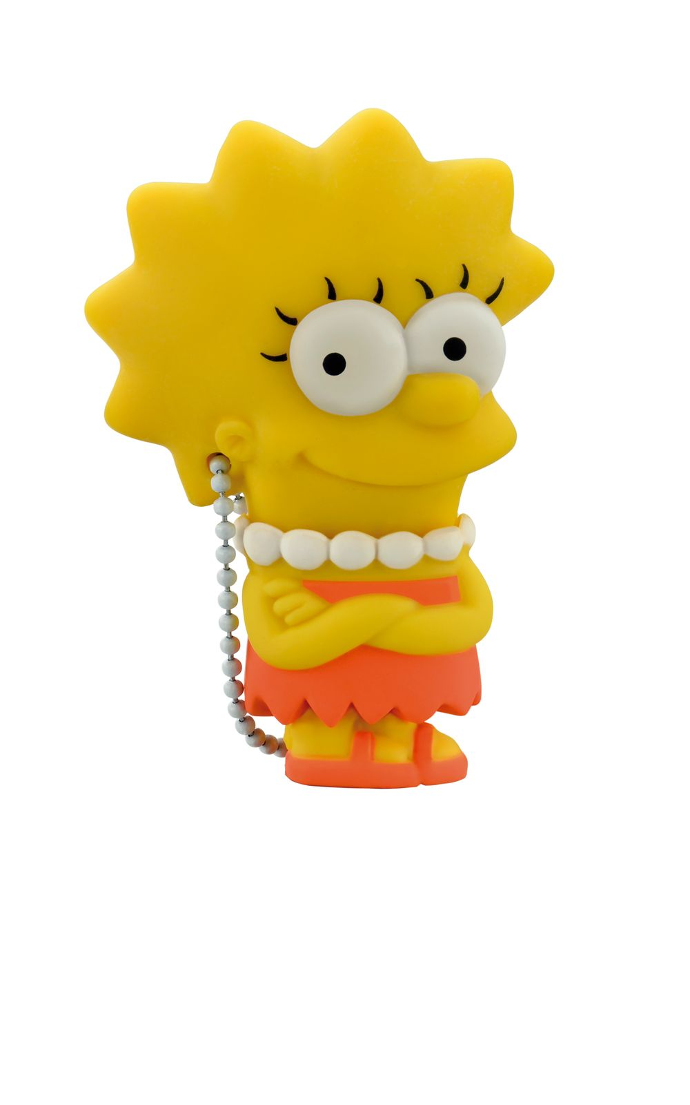 Foto 2 - Pendrive Multilaser 8Gb Simpsons Lisa - PD072